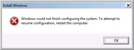 How to troubleshoot cloning a Windows system with Sysprep
