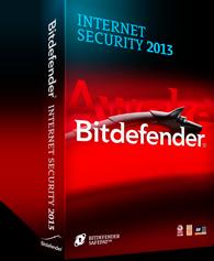 Software Bitdefender Internet Security 2013